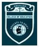Ansaldo College of Education, Chennai
