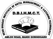 Desh Bhagat Institute of Hotel Management & Catering Technology - [DBIHMCT], Gobindgarh