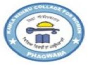 Kamla Nehru College for Women - [KMC], Kapurthala