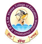 SBHSM Khalsa College of Education, Hoshiarpur