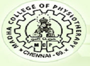 Madha College of Physiotherapy, Chennai