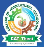 College of Agricultural Technology, Tamil Nadu Agricultural University - [CAT], Theni