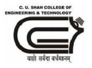 C.U. Shah College of Engineering and Technology, Wadhwan