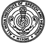 All India Institute of Speech and Hearing - [AIISH], Mysore