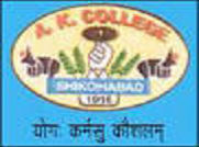 Adarsh Krishna P.G. College - [AKPG], Shikohabad
