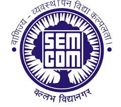 S G M English Medium College of Commerce and Management - [SEMCOM], Vallabh Vidyanagar