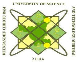 Deenbandhu Chhotu Ram University of Science and Technology - [DCRUST], Sonepat