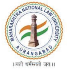 Maharashtra National Law University - [MNLUA], Aurangabad