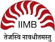 Indian Institute of Management - [IIMB], Bangalore