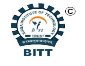 Birsa Institute of Technology - [BITT], Ranchi