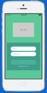 Navigational app of Login Module