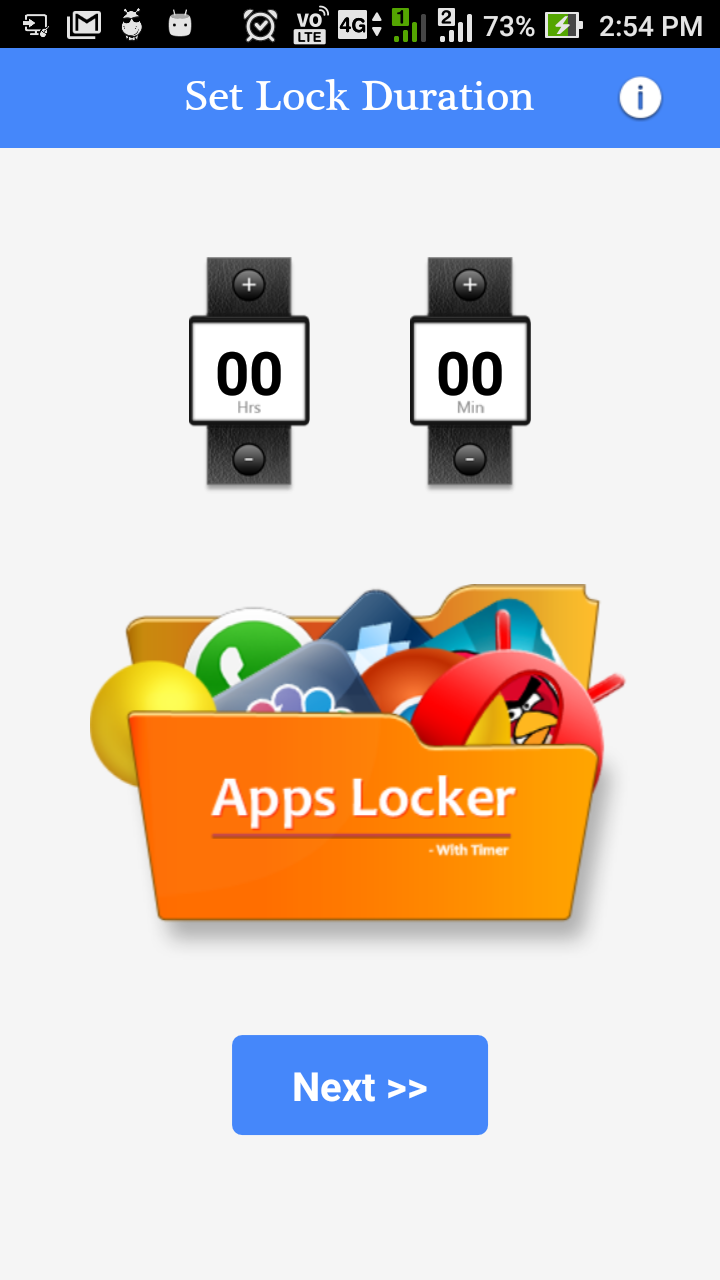 Application Locker Code In Android Studio