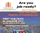 TuteeHUB Team Camping in Jodhpur - Sep 26 & Sep 27