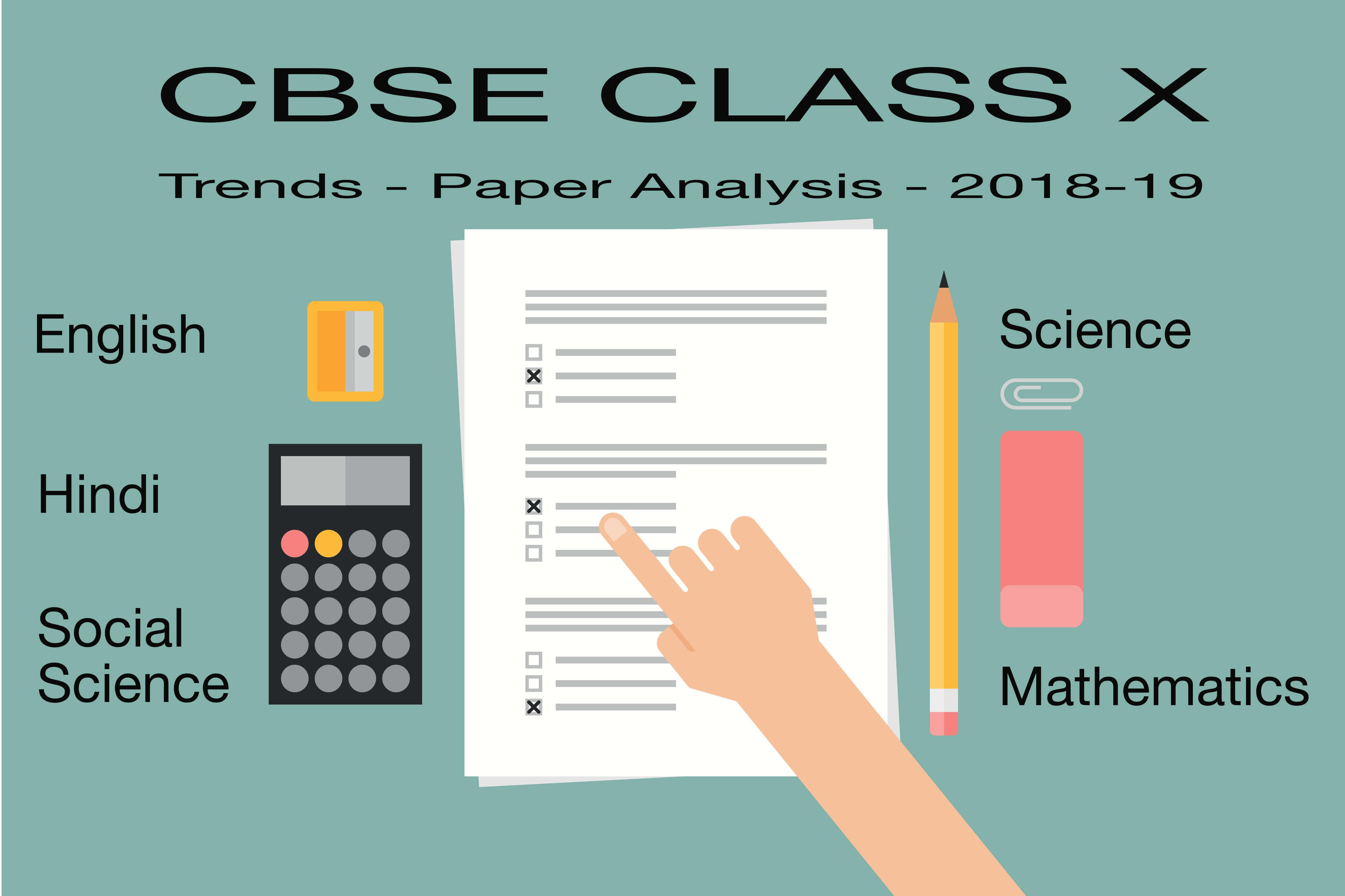 CBSE Class 10 Exam Trends and Analysis 2018-19