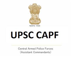 UPSC CAPF Syllabus : Details CAPF Syllabus Download PDF