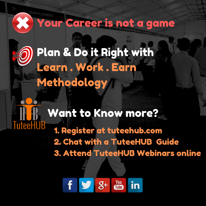 TuteeHUB is Your Career Compass!