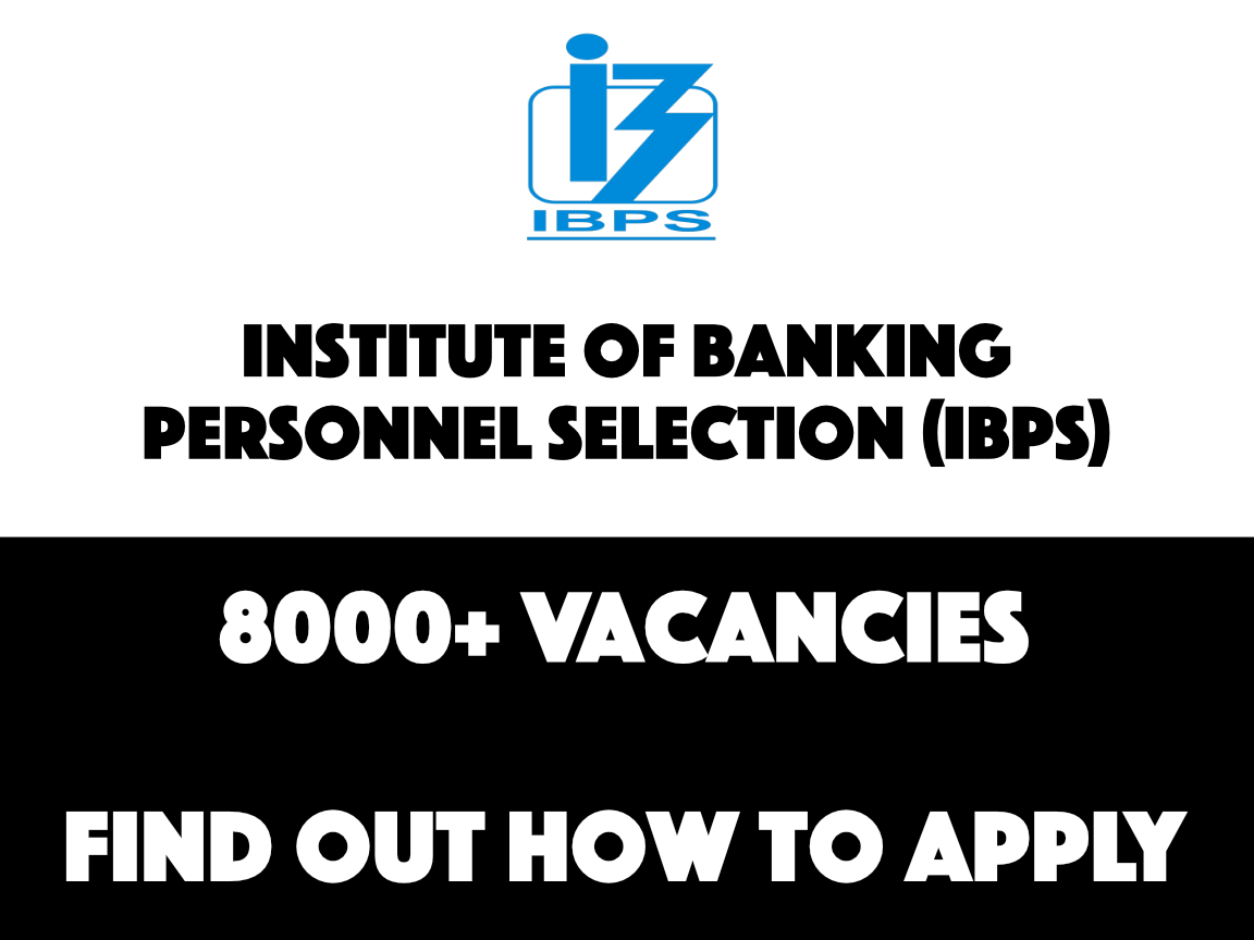 IBPS RRB Recruitment 2019 - 8,000+ openings