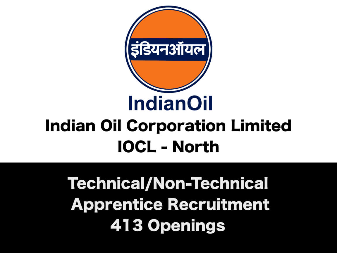 IOCL-North Apprentice Recruitment 2019 - 230 Openings