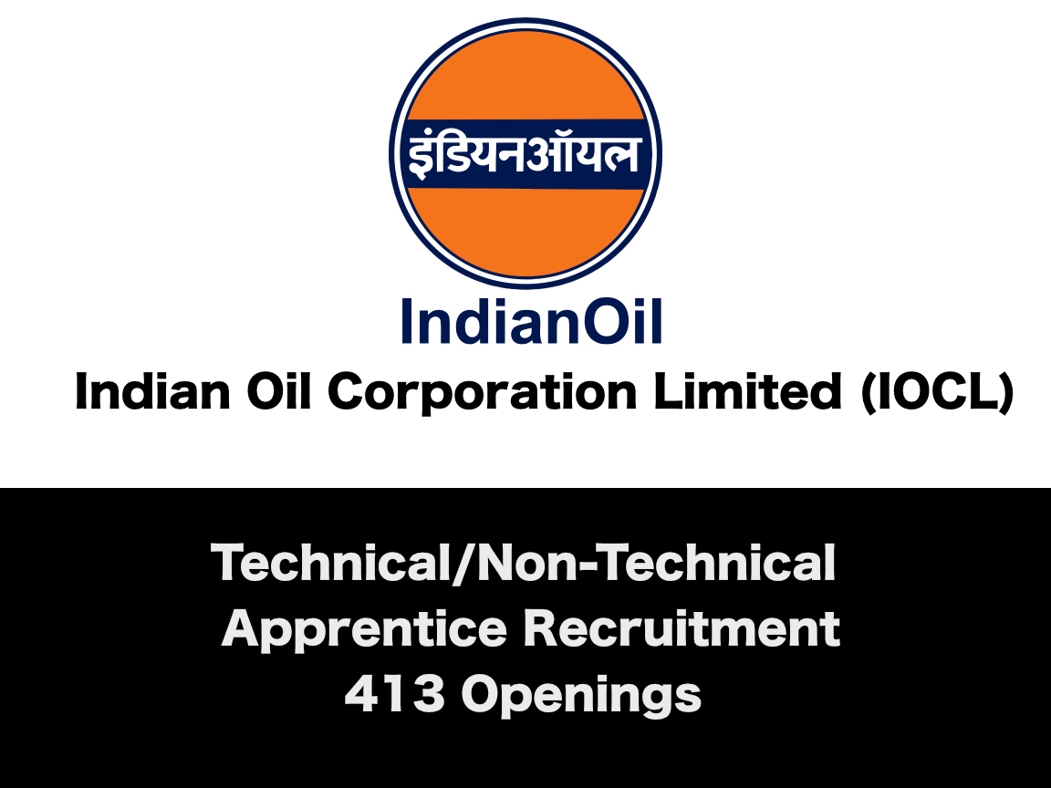 Indian Oil-South Apprentice Recruitment 2019 - 413 Openings