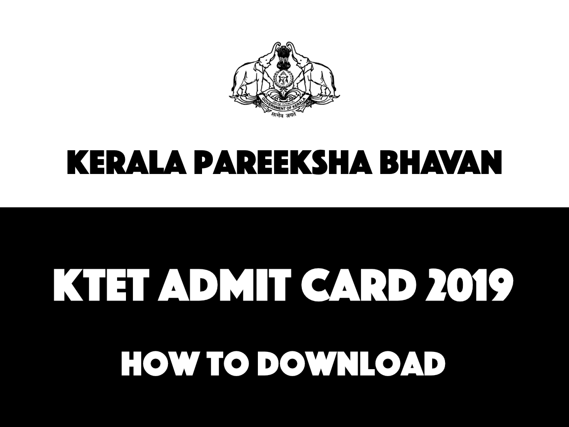 KTET Admit Card 2019 Released - Download Instructions Here
