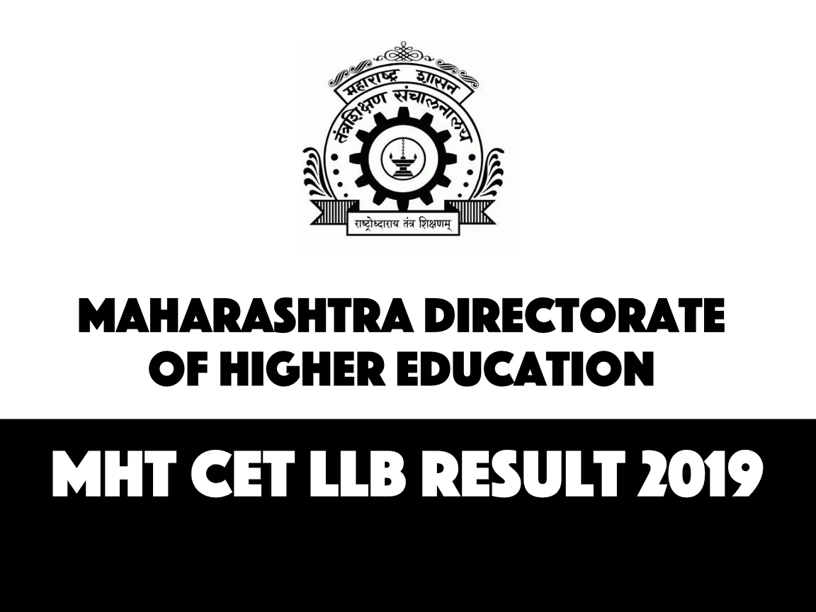 MHT CET Law Result 2019 - LLB Entrance