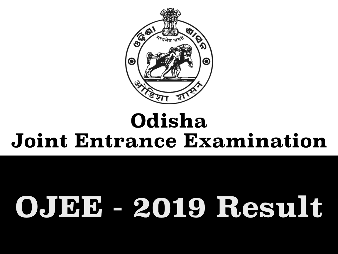 OJEE Result 2019 - Odisha Joint Entrance Examination Result Declared