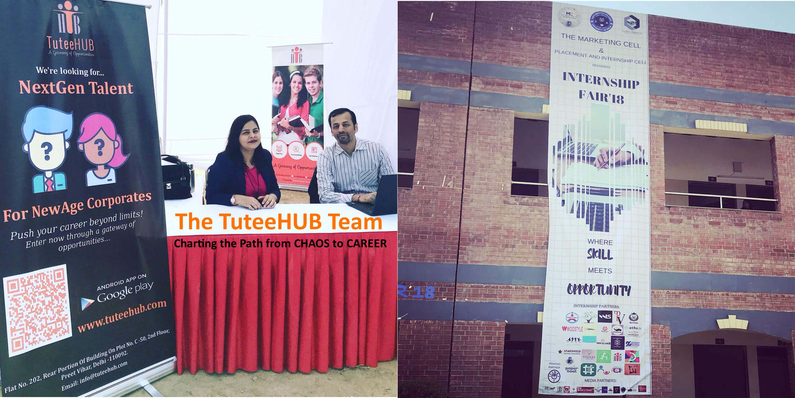 Feb 27th, 2018 Internship Fair' 18 at Aryabhatta College