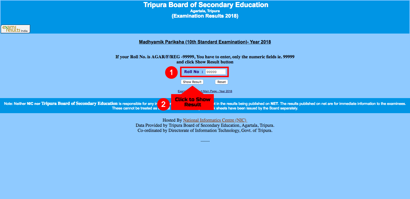 Tripura Board Class 10th Result 2018: Check here