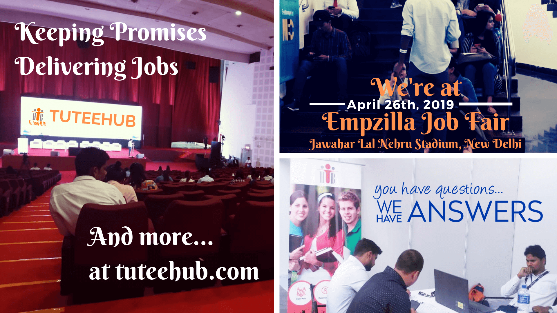 Hiring at EmpZilla Job Fair, Jawahar Lal Nehru Stadium, New Delhi