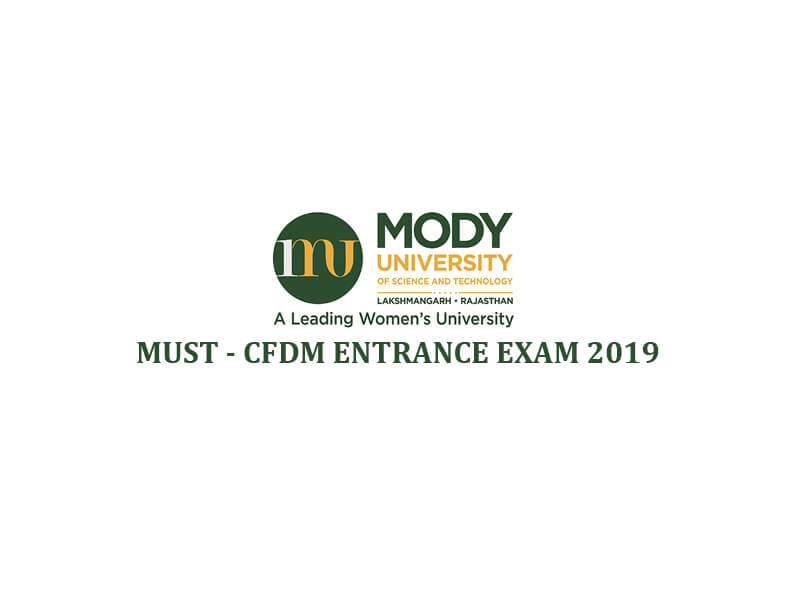 MUST - CFDM Entrance Exam 2019