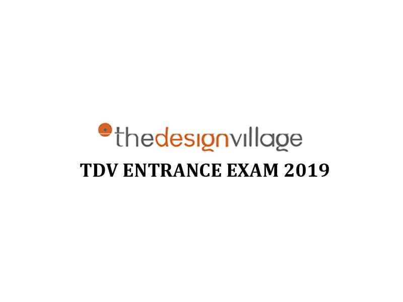 TDV Entrance Exam 2019