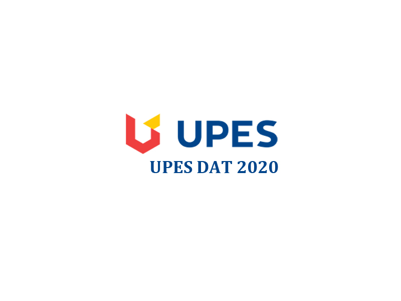 UPES DAT 2020