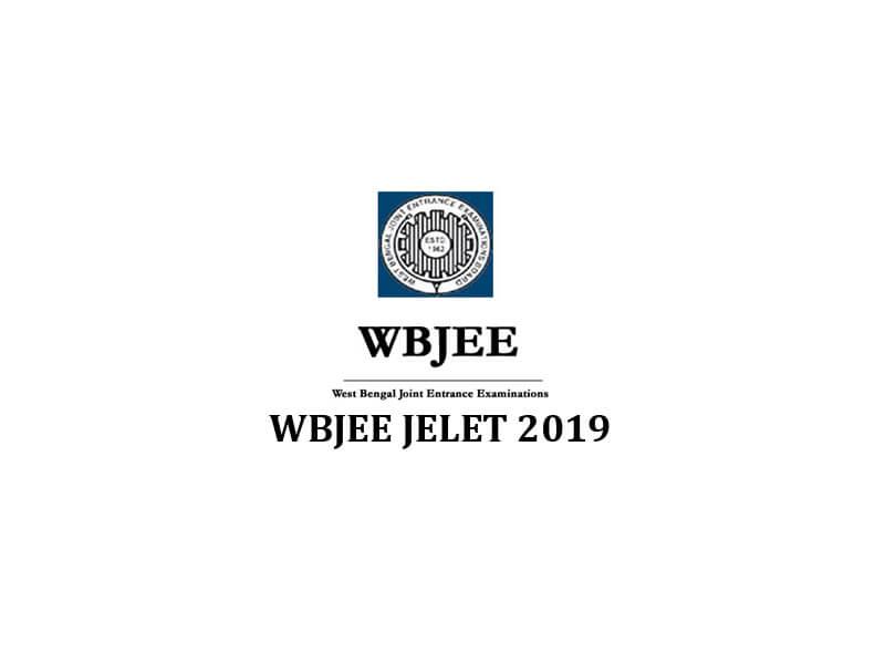 WBJEE JELET 2019